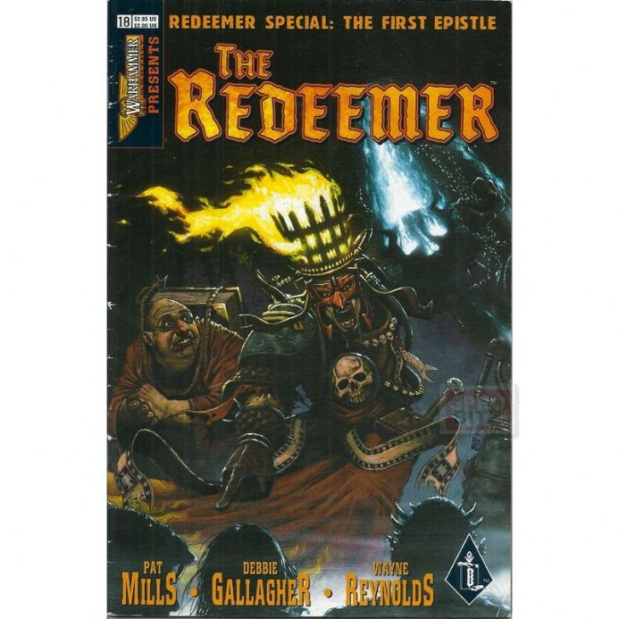 Warhammer Monthly Presents The Redeemer #18 Comic July 1999